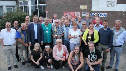 Martine Roos en Rudy Van Rie zijn de kampioenen van petanqueclub COC