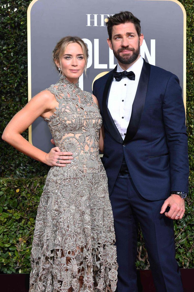 Emily Blunt en echtgenoot John Krasinski.