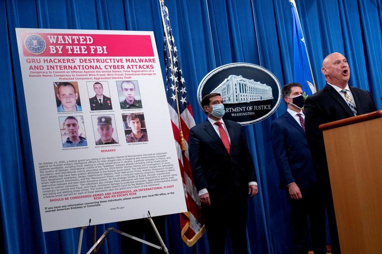 Een Russische groep die bij cyberonderzoekers bekendstaat als Dragonfly of Berserk Bear, zou volgens de VS verantwoordelijk zijn voor de aanvallen op de staten en lokale overheid. Beeld REUTERS