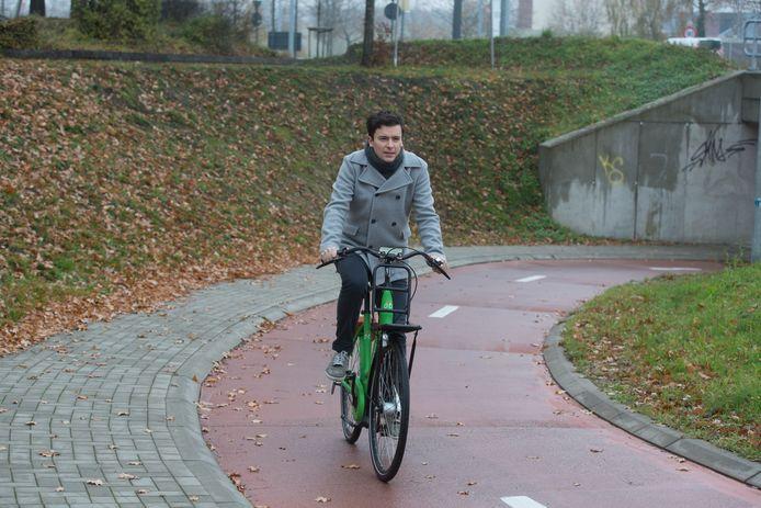 Fietsen in Sint-Truiden  Liebrecht Krznaric van de fietsersbond