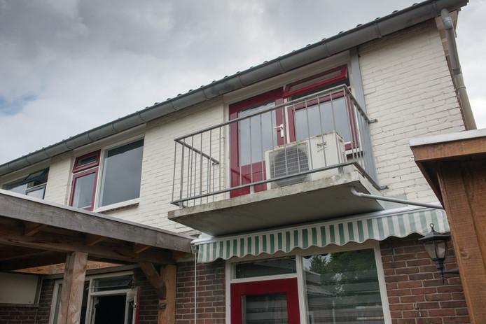 Balkon aan de Gelreweg  in Ermelo.