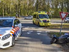 Scooterrijder gewond bij aanrijding Oosterbeek