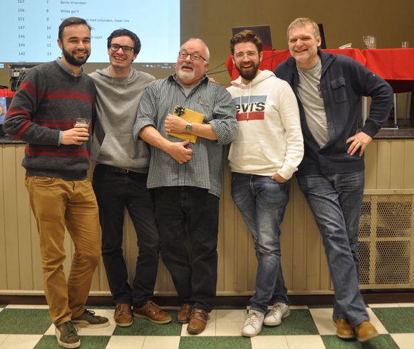 Nietzsches Machine  won de derde editie van Weerdiequiz, georganiseerd door het Koninklijk Toneelgezelschap Weredi in Lot.