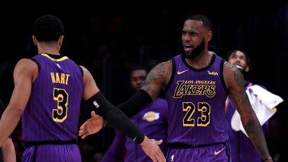 LeBron James passeert Wilt Chamberlain in topschutterslijst NBA en staat nu vijfde