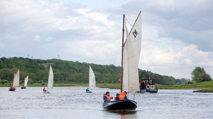 De waterscouts van Musinga-Rijn op archiefbeeld uit 2012.