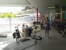 Het Europaplein in Wijchen wacht op nieuwe stalen palen
