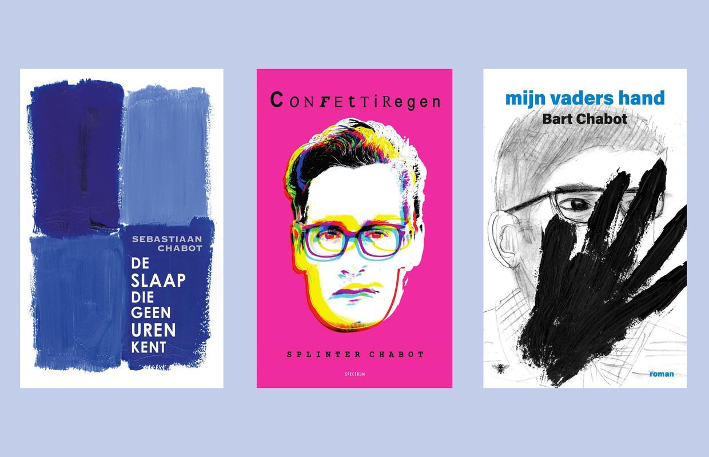 De boeken van Sebastiaan, Splinter en Bart Chabot. Beeld
