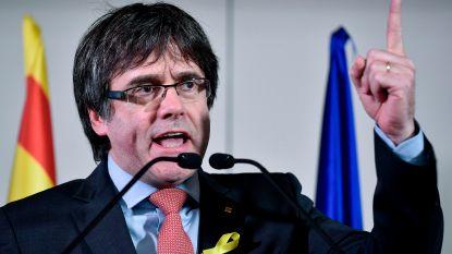 Spaans parket wil Puigdemont laten arresteren als hij naar Denemarken reist