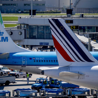 KLM eist gelijkwaardige positie naast Air France