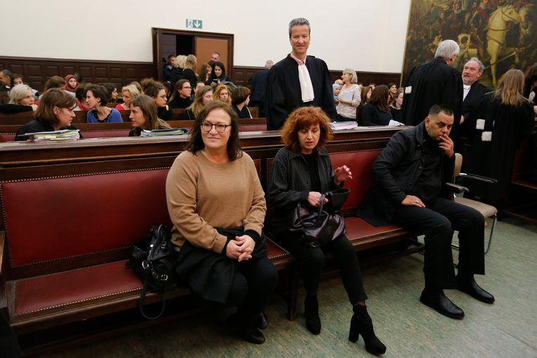 Anouk Van Gestel tijdens het 'proces van de solidariteit'