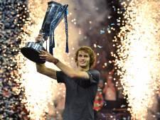 Zverev (21) weerhoudt Djokovic van zesde titel ATP Finals