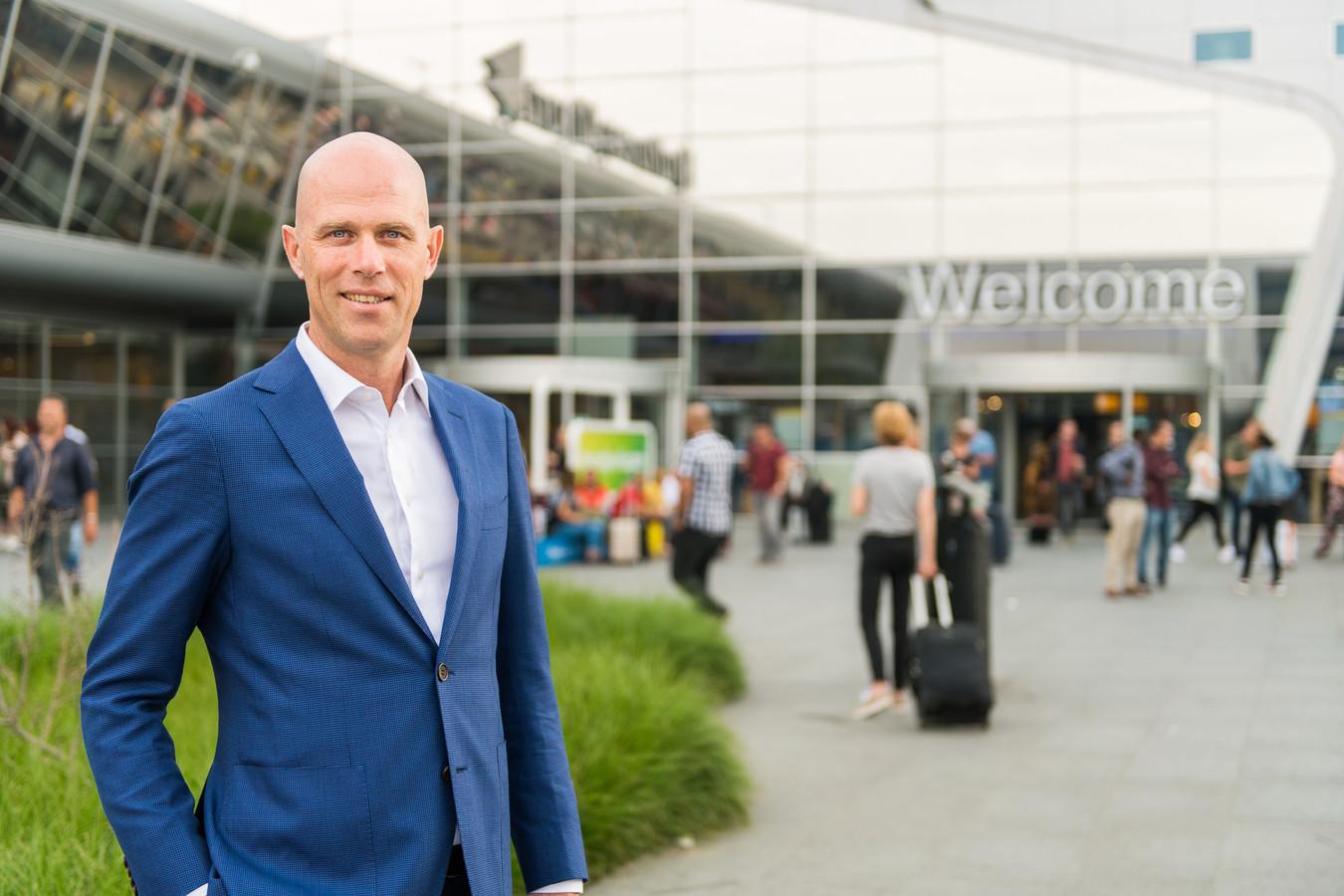 Roel Hellemons, directeur Eindhoven Airport.