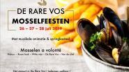 De Rare Vos organiseert eerste Mosselfeesten (met randanimatie voor iedereen)