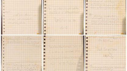 """Eerste contact Thaise jongens met hun ouders via handgeschreven briefjes: """"Niet te veel huiswerk en gefrituurde kip graag"""""""