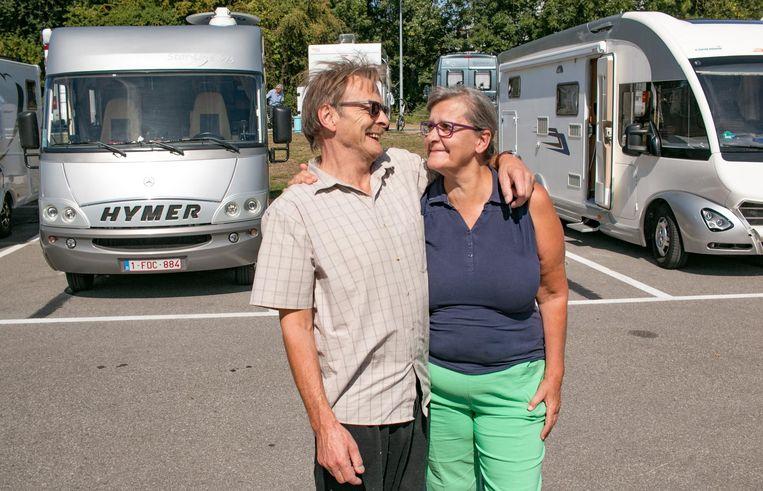 """Etienne en Chris: """"Onze camper is ons huis waarmee we het hele jaar door op trip zijn in Europa."""""""