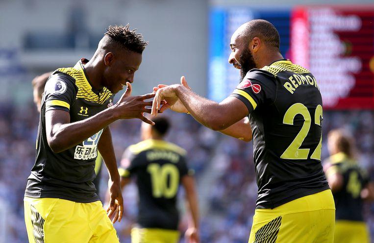 Djenepo en Redmond, de doelpuntenmakers.
