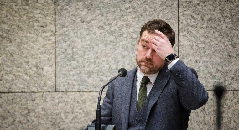 VVD-fractievoorzitter Klaas Dijkhoff houdt vast aan zijn wachtgeld. Beeld ANP