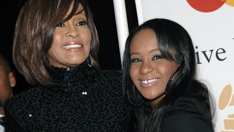 Whitney Houston met dochter Bobbi Kristina in 2011.