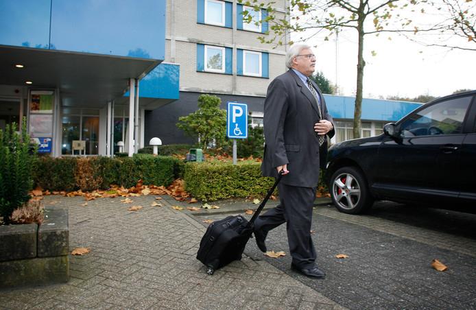 Het Novotel in Eindhoven.