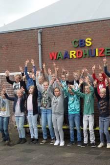 Eco helden in actie op basisschool Waardhuizen