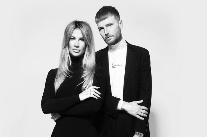 Eduard Meijerink en Kylie Jones van kapsalon Velvet Monkey Almelo.