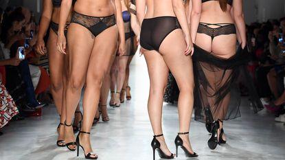 Volslanke modellen veroveren Fashion Week: een overzicht