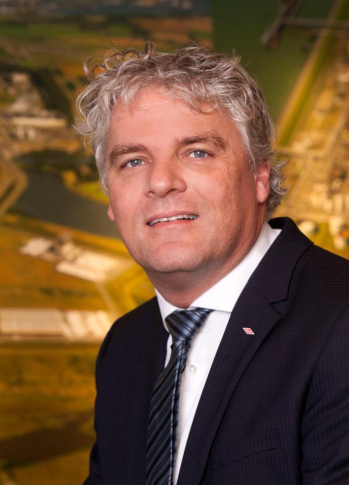 Neldes Hovestad, de Zeeuwse afdelingsvoorzitter van VNO-NCW en algemeen directeur Dow Benelux Terneuzen.
