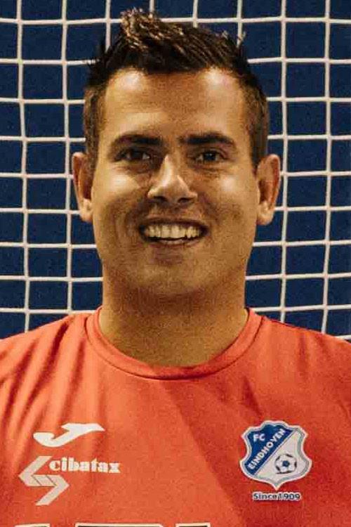 Doelman Pieter Grimmelius scoorde twee keer.