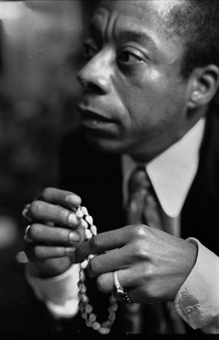 James Baldwin, 1970. Beeld Eddy Posthuma de Boer