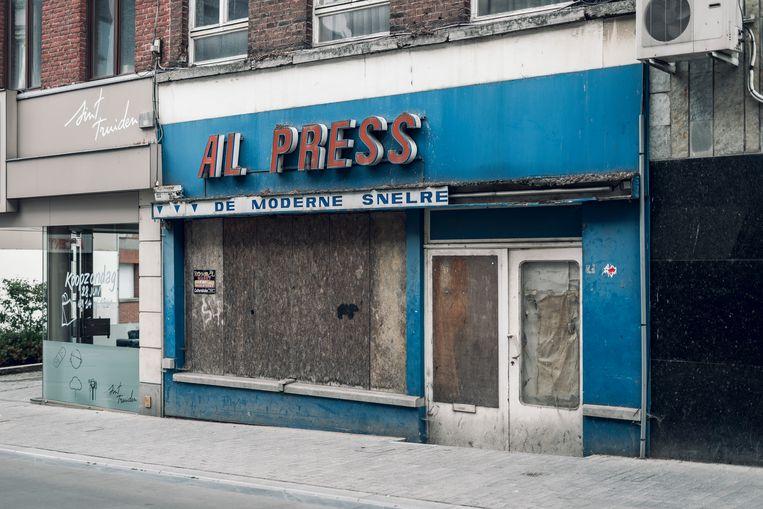 Het voormalige gebouw Al Press in de Truiense Stapelstraat komt naar alle waarschijnlijkheid in handen van de Stad Sint-Truiden.