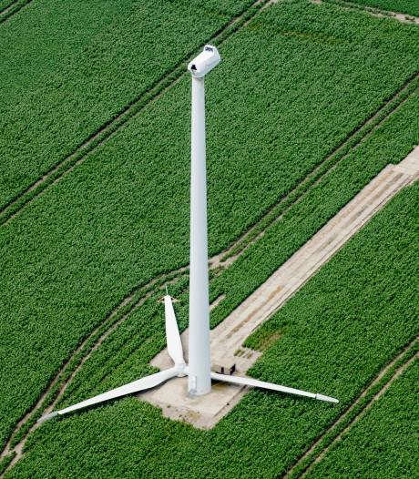 Windmolen Eerste Exloërmond heeft voor het eerst gedraaid