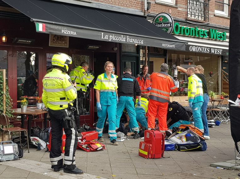 De 21 doden door geweld in Amsterdam in 2019 zijn er niet excessief veel. Al meer dan tien jaar schommelt het tussen de 15 en de 30 per jaar. Beeld Evert Elzinga