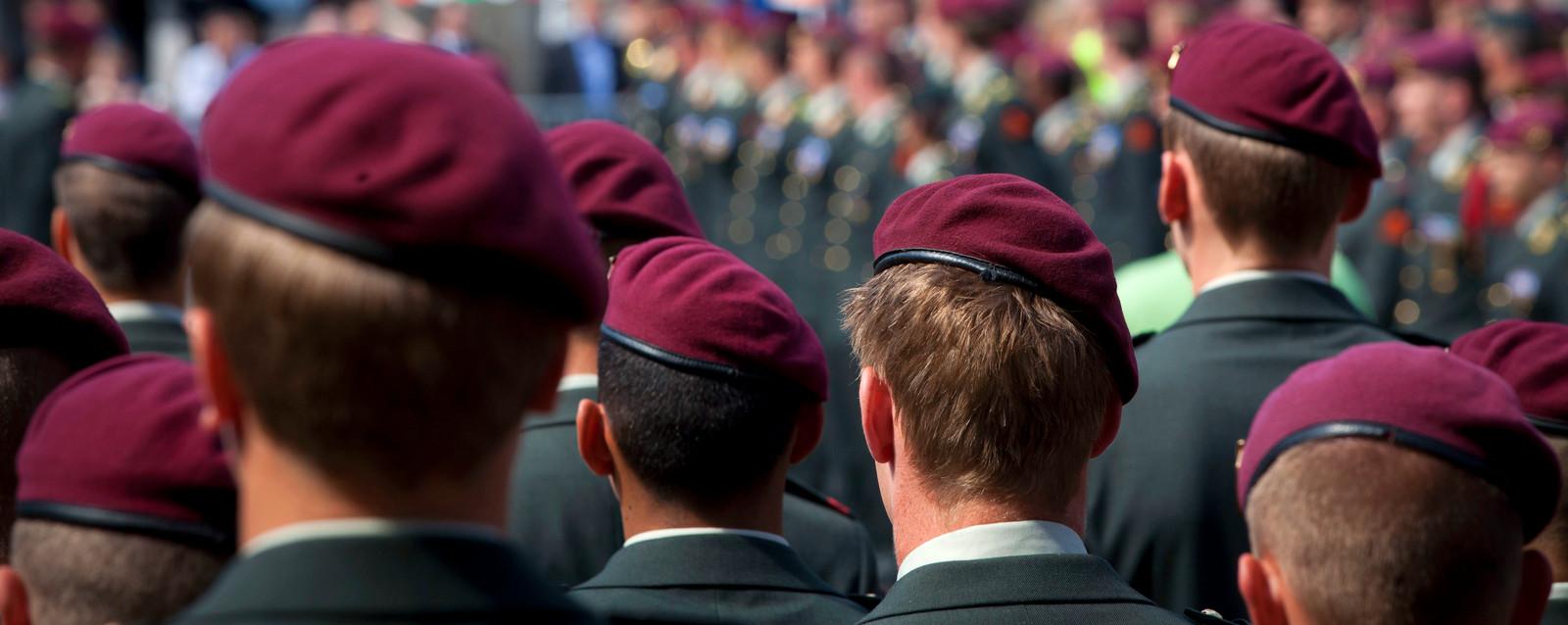 Militairen van de Luchtmobiele Brigade