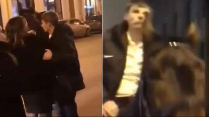 Hij was Russische EK-held en ster van Arsenal, nu verlaat stomdronken Arshavin een stripclub... te paard