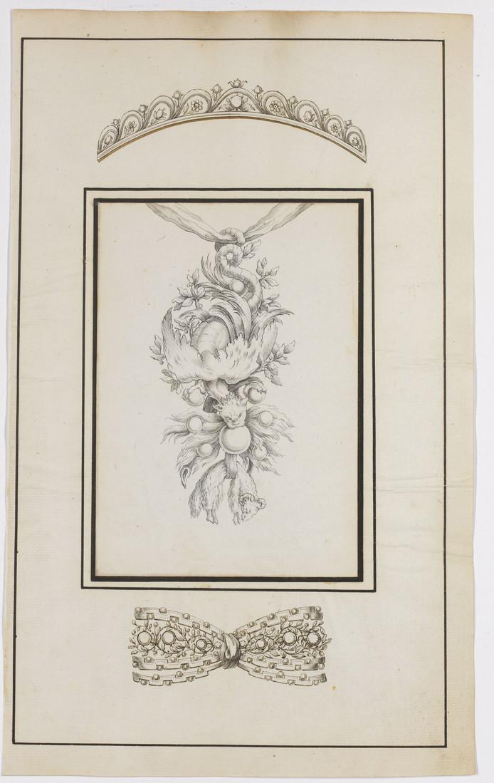 Juweelontwerpen van L. Vander Cruycen