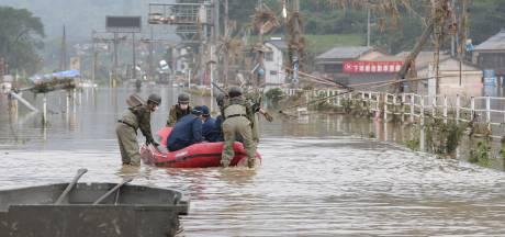 Tientallen doden door noodweer in Japan, meer regen verwacht