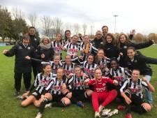Voetbalsters Eldenia pakken zonder puntverlies periodetitel in hoofdklasse