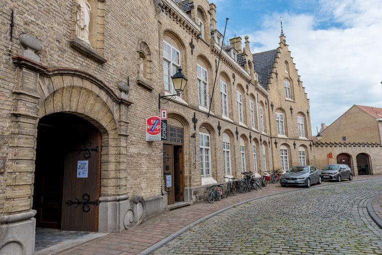 Het klooster van de Zwarte Nonnen in de Zwarte Nonnenstraat
