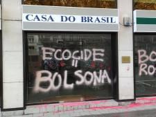 Extinction Rebellion revendique l'action contre l'ambassade brésilienne