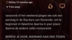 Bericht op datingsite over aanslag op Oostendse homobars veroorzaakt paniek