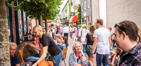 Foutje bedankt: Oss haalt tegen afspraak in toch bomen weg uit Peperstraat