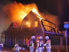 Uitslaande brand legt woning in Glanerbrug in as