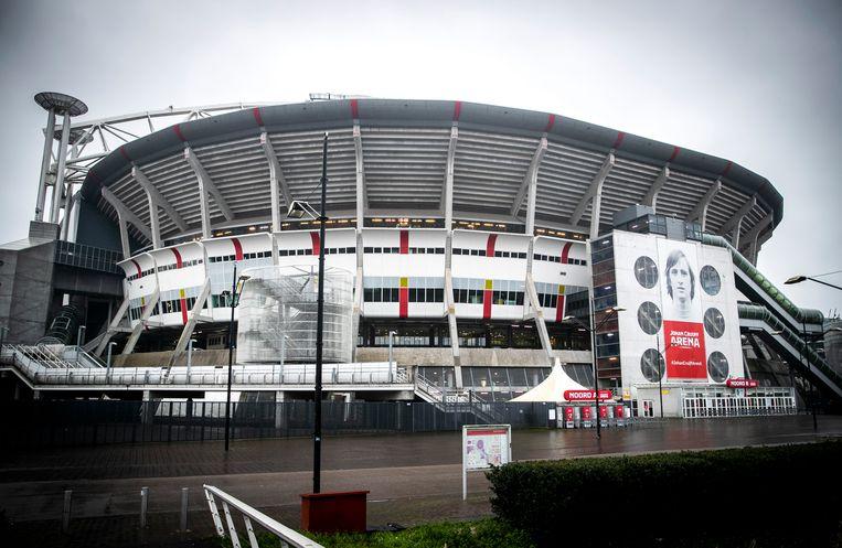 De show Monument of Light zal het hele stadion doen oplichten. Beeld ANP