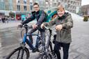 Jongeren zijn enthousiast over e-bikes.