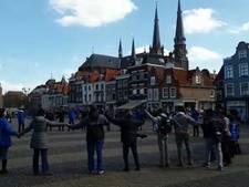 Dansen op de Markt voor Wereld Waterdag