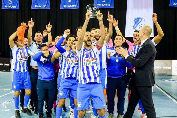 FC Eindhoven wint Benecup in december 2018.