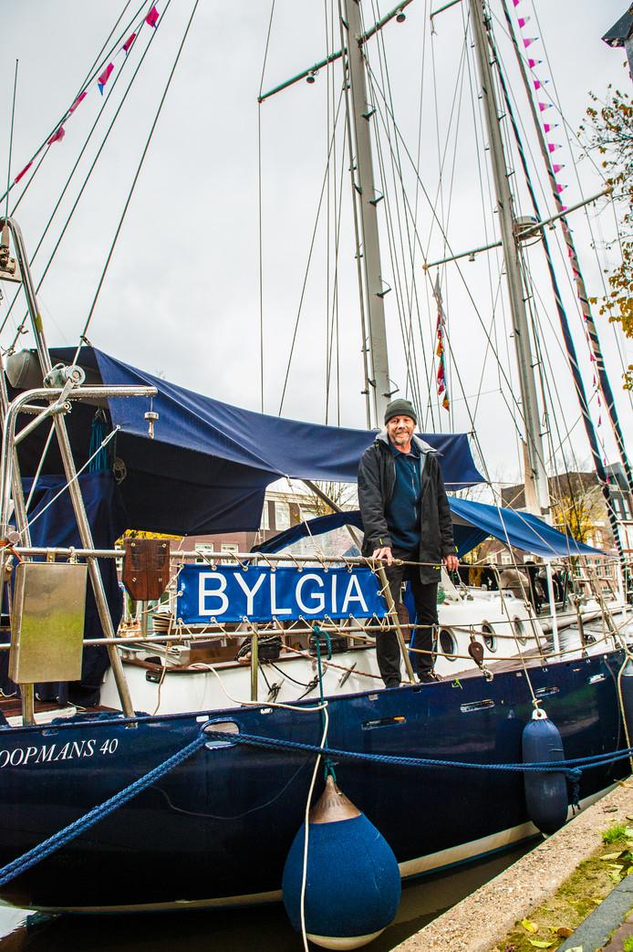 De Bylgia ligt aan de Vest in Gouda.