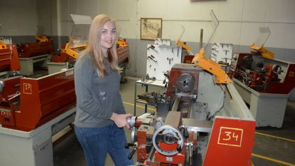 Docente elektromechanica (24) maakt meisjes warm voor technisch onderwijs als Europees ambassadrice