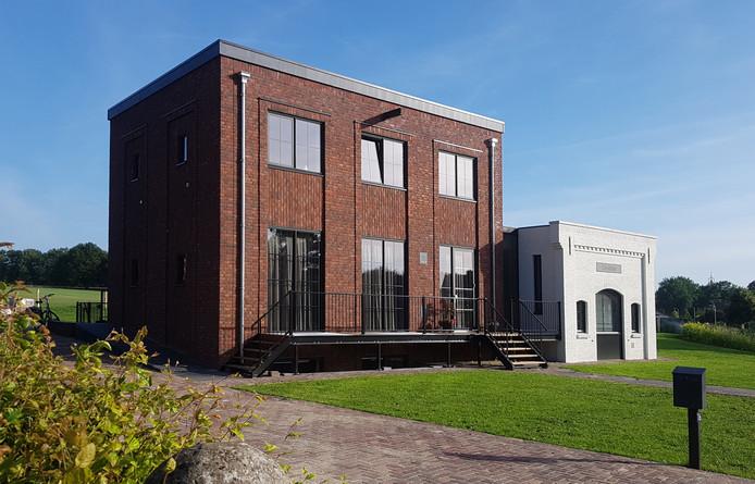 Woonhuis De Mölle, gebouwd op locatie voormalige  molen