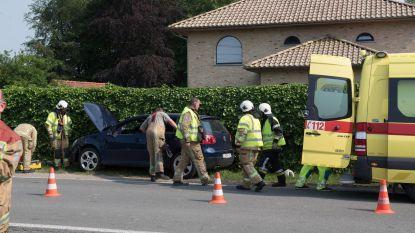 Chauffeur gewond bij ongeval in Ommegangstraat